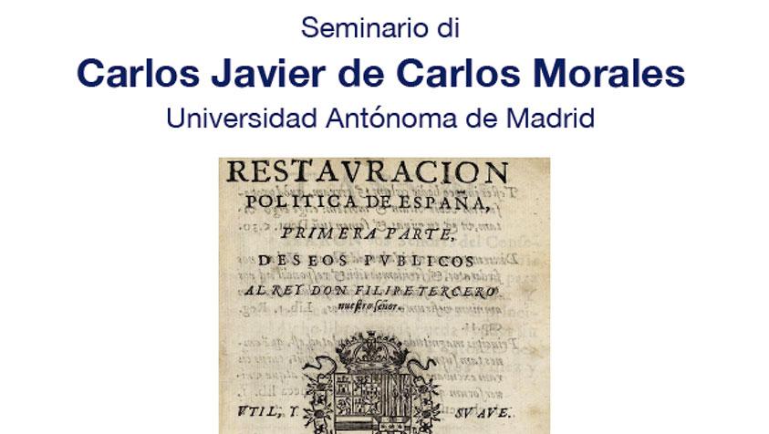 Seminario de Doctorado «'Decadencia económica', fiscalidad y endeudamiento dinástico en la España de los Austrias»