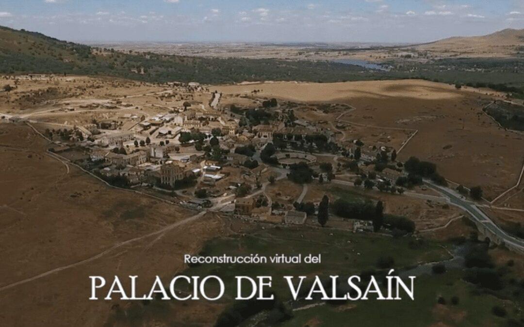 Palacio de Valsaín. Reconstrucción 3D